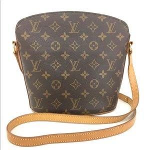 Louis Vuitton Monogram Drouot Cross Body Bag